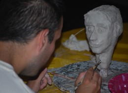 Creation Of A Bust