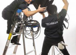 Goofy Technician