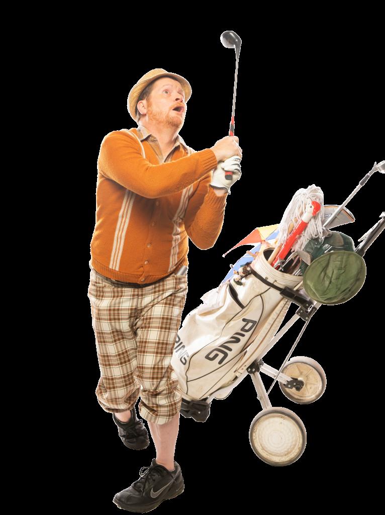 Le Golfeur Loufoque : Le plus malhabile des golfeurs, au monde !
