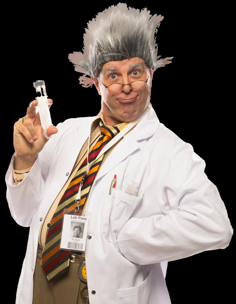 Le Professeur Goudzy :  Un savant excentrique !